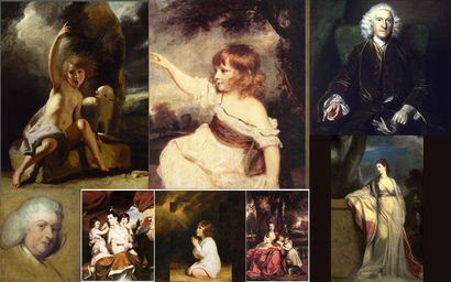 Sir Joshua Reynolds choix d'oeuvres 02