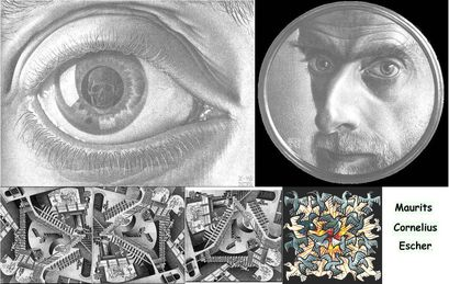 Maurits Cornelius Escher choix d'oeuvres