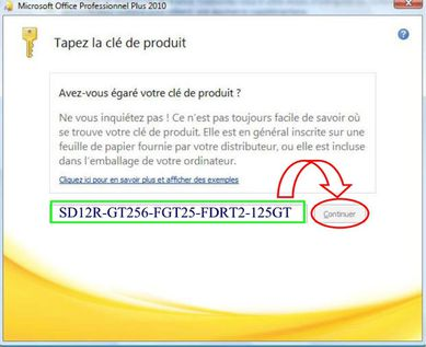 crack microsoft office 2010 cle dactivation