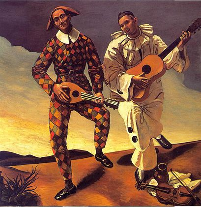 Harlequin-and-Pierrot--1924--Andre-Derain.jpg