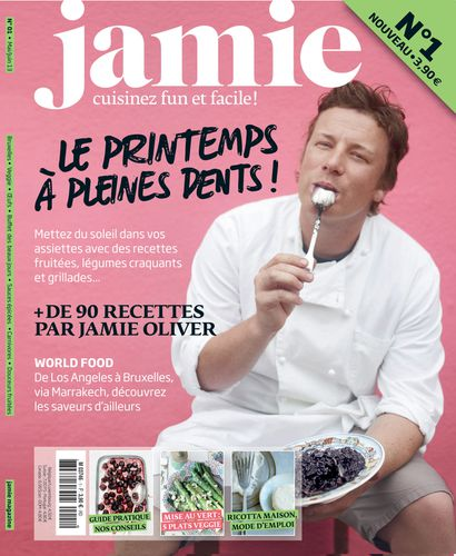 jamie mon nouveau magazine de cuisine virginie b. Black Bedroom Furniture Sets. Home Design Ideas