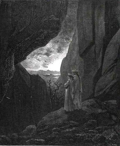 Dante et Virgile aux enfers par Gustave Doré