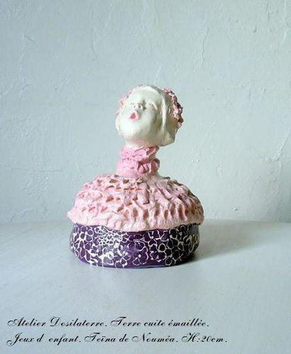 sculpture ceramique déco enfant