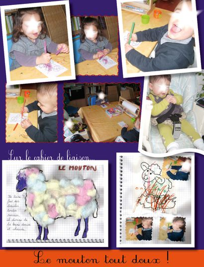 photos Coloriage mouton