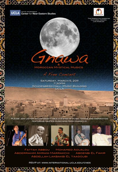 Gnawa and Moroccan Mystical Musics