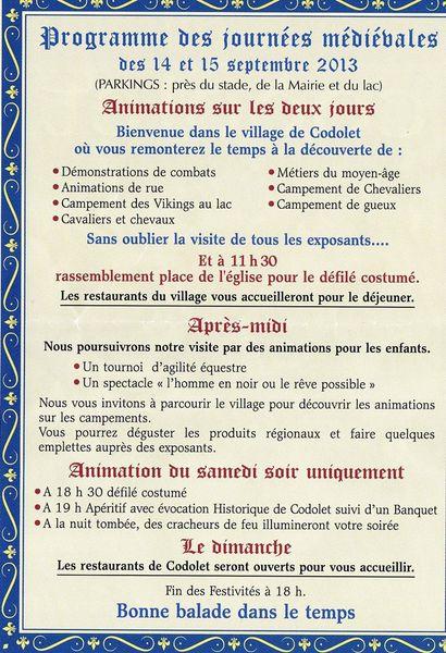 fête medievale Codolet 1
