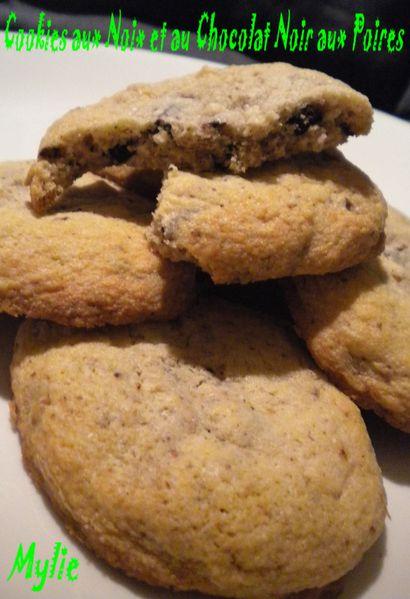 cookies noix et choco-poires 3