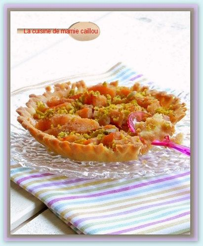 tartelette aux coings et aux épices