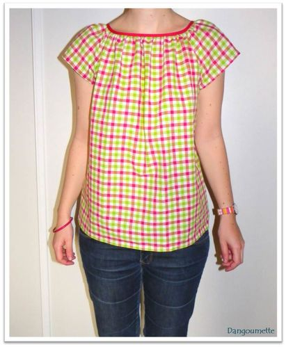 blouse marie madras