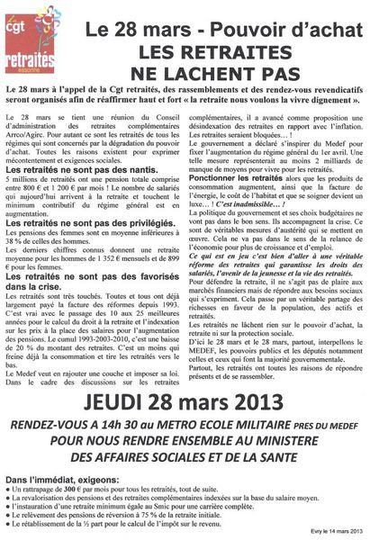 manif retraités 28 mars 2013