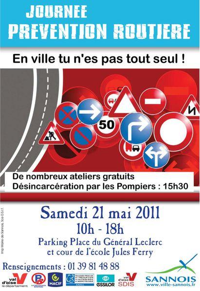 Journée prévention routière 2011