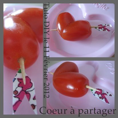 Tuto coeur saint valentin deco for Deco table st valentin