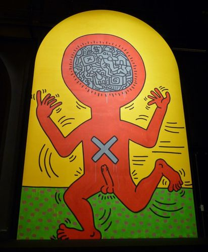 Keith Haring 10 commandements 104 8
