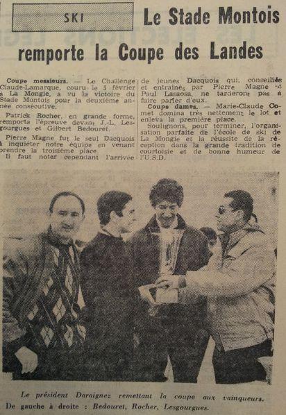 Coupe des Landes Ski 14-2-1967