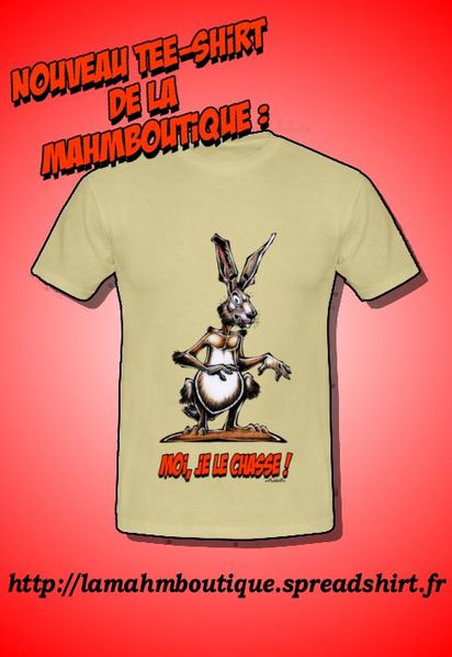 Promo Tee-Shirt Chasse Lièvre Mahm