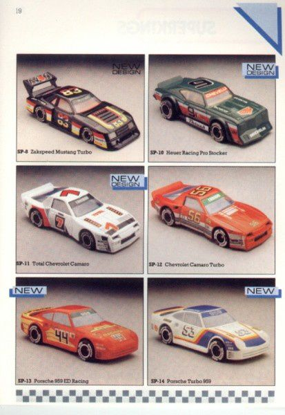 catalogue matchbox 1986 p19 total chevrolet camaro