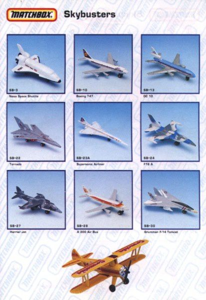 catalogue matchbox annee 1992 s17
