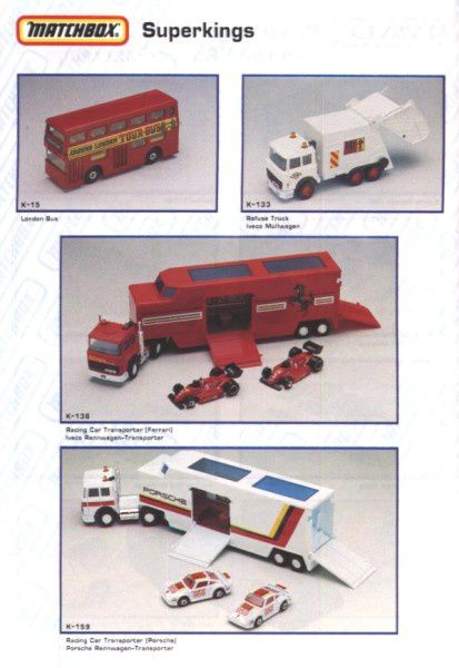 catalogue matchbox annee 1992 s42