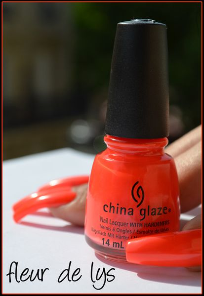 China Glaze Summer neons swatches