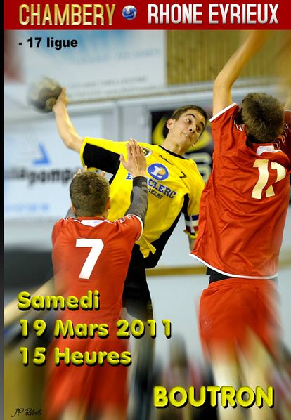 Affiche - 17 CHAMBERY RHONE EYRIEUX 19 03 2011