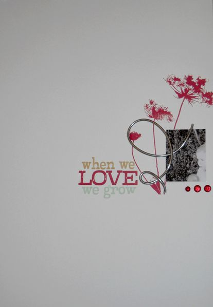 when love...a4 SandyDub
