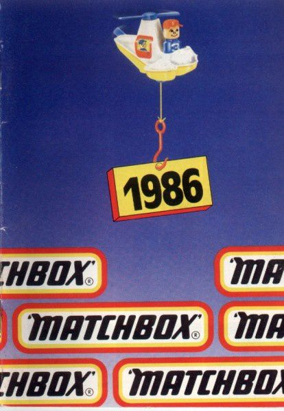 catalogue matchbox 1986 p01 couverture
