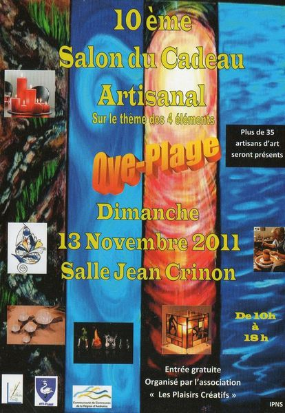 Affiche salon oye plage - Copie
