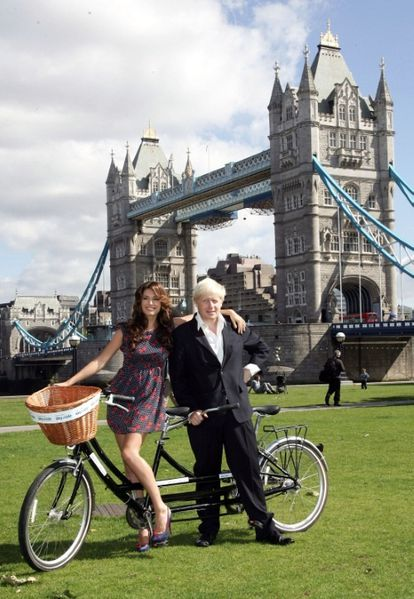 kelly brook boris johnson maire de londres