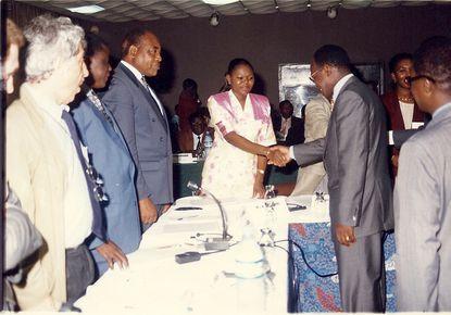 Réunions des Maires francophones à Abidjan en 1996