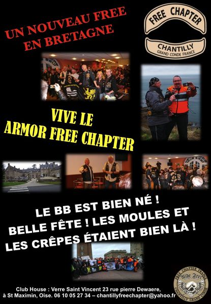 armor free chapter avril 2013