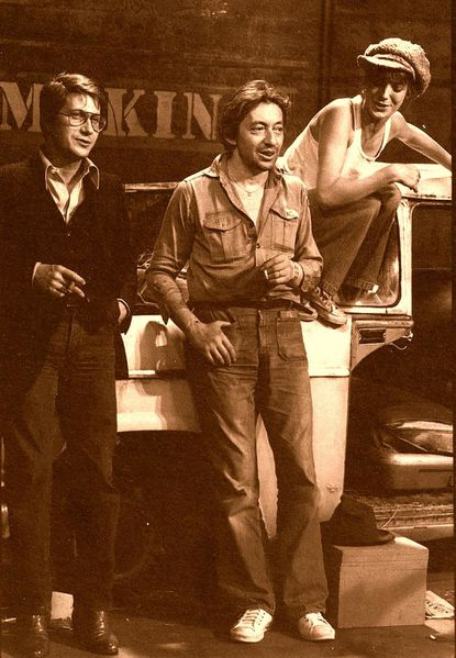 Gainsbourg et Dutronc