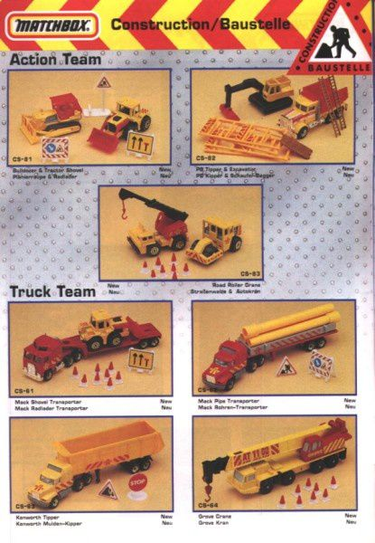 catalogue matchbox annee 1992 s12