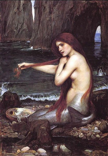 415px-John William Waterhouse - Mermaid