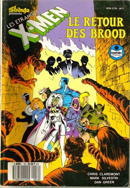 X-men Le retour des brood