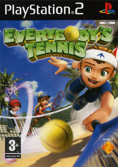 Everybody's Tennis - jaquette