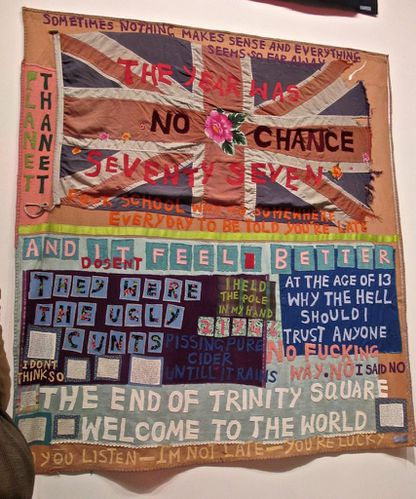 Tracy Emin quilt Hayward no chance
