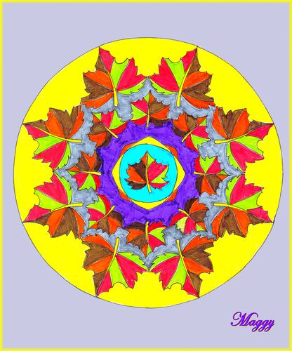 Mandala automne