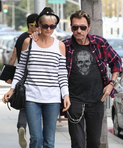 Johnny Hallyday et Laeticia Shopping à Beverly Hills n8