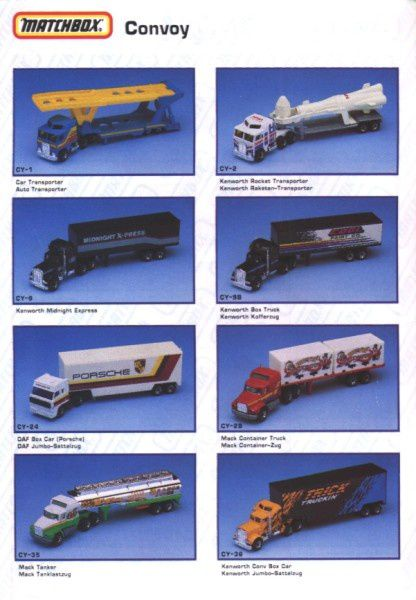 catalogue matchbox annee 1992 s08