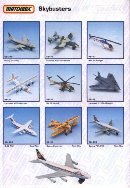 catalogue matchbox annee 1992 s18