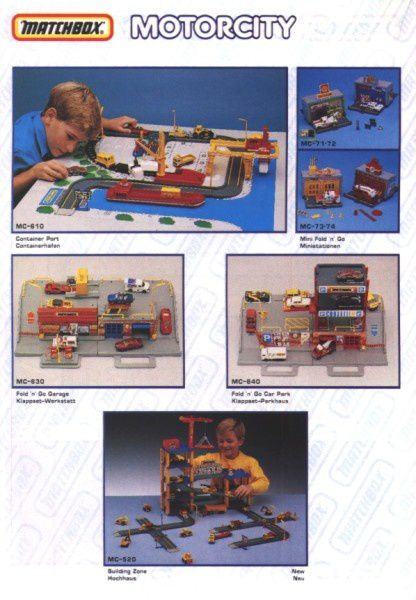 catalogue matchbox annee 1992 s24