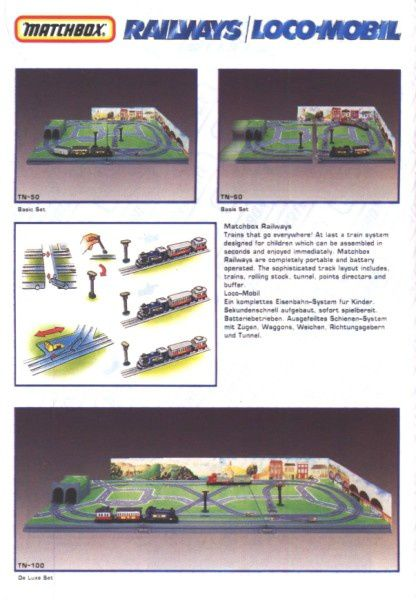 catalogue matchbox annee 1992 s46 railways locomotive match
