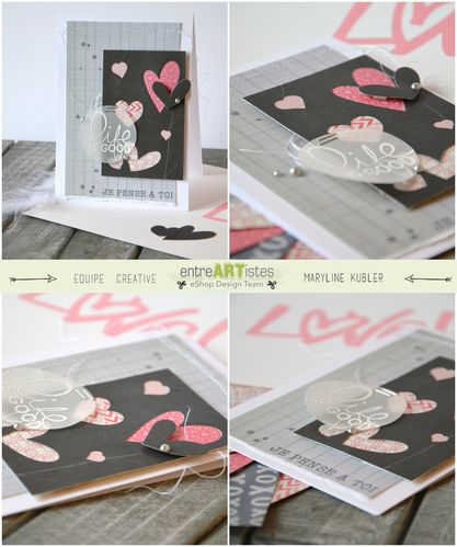 Mary pour EntreARTistes ensemble cartes St Valentin 2