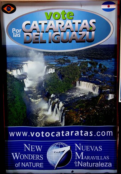 bresil Iguazu Affiche1