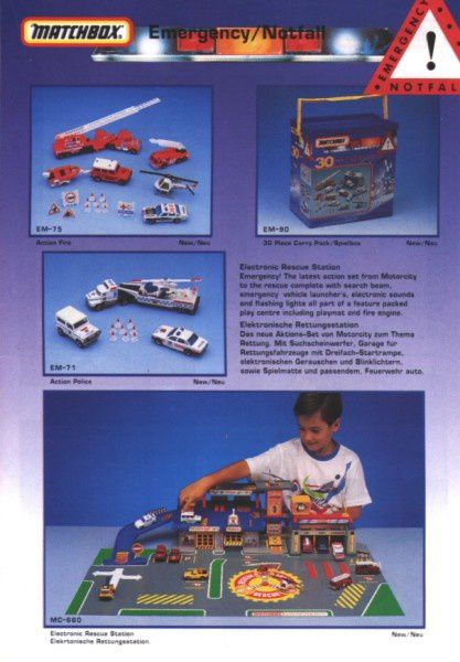 catalogue matchbox annee 1992 s15