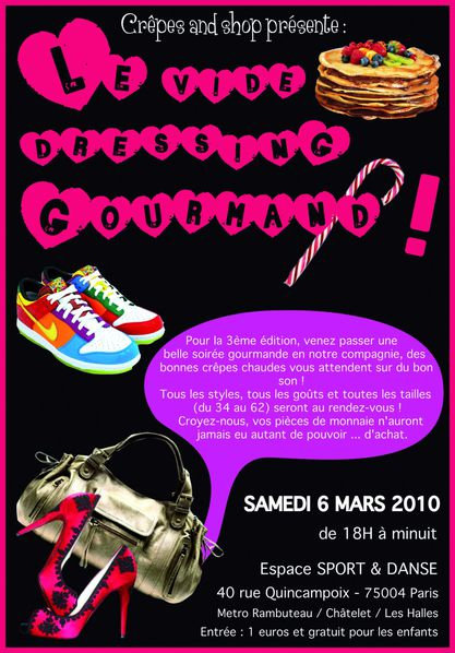 flyer crêpes and shop blog number 1