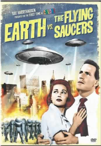 A earth versus the flying saucers poster