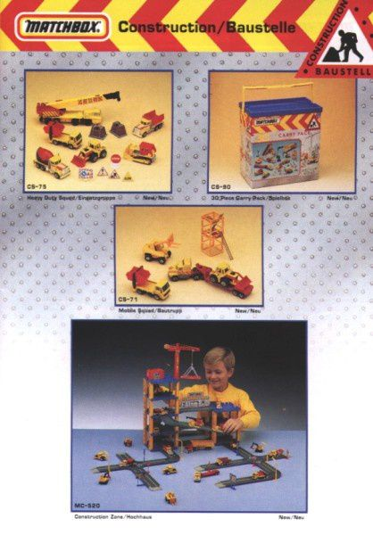 catalogue matchbox annee 1992 s13
