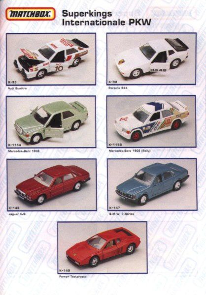 catalogue matchbox annee 1992 s39