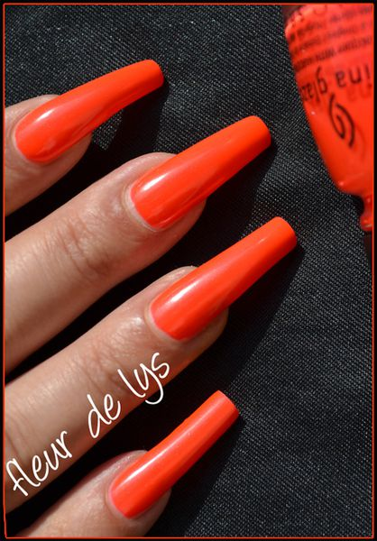China Glaze Neons (2012)